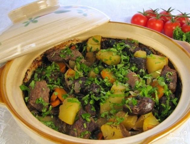 Блюда в керамической кастрюле рецепты