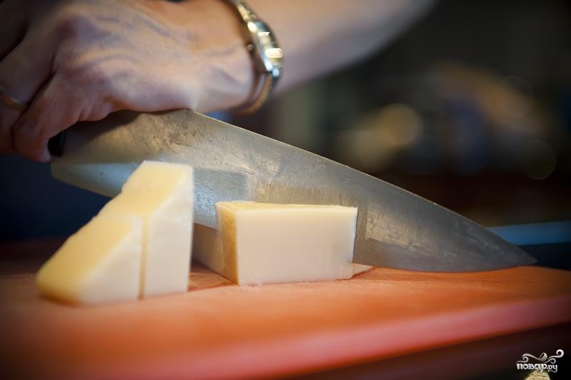 Гренки с сыром и чесноком - фото шаг 2