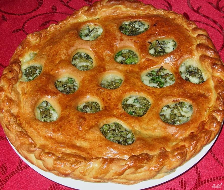 Пирог с моцареллой - фото шаг 6