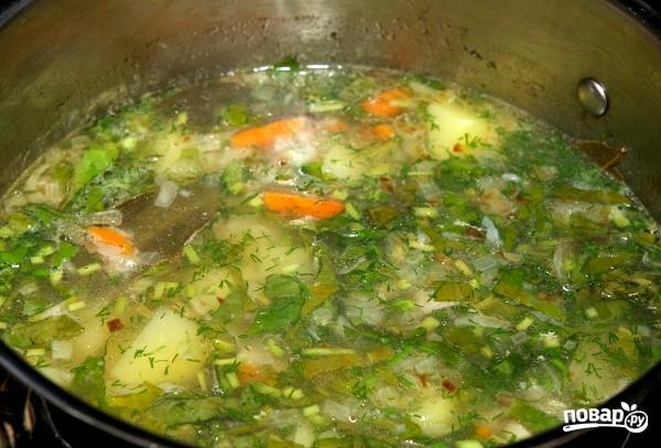 Щавелевый суп со свининой - фото шаг 5