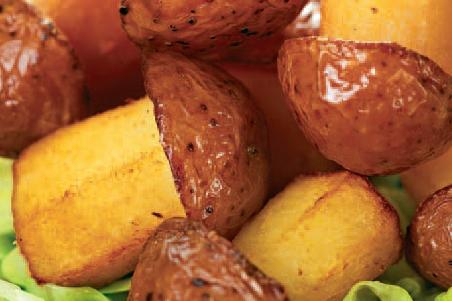 Грибы из картофеля