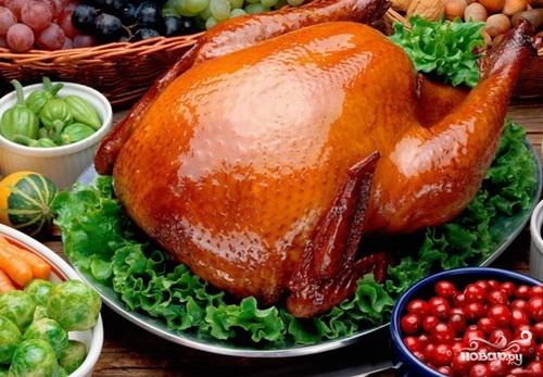 Рецепт Курица с медом в духовке