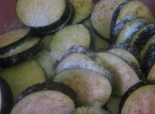 Рецепт Баклажаны в кляре с чесноком