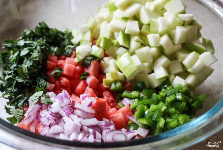салаты рецепты с фото лавашом