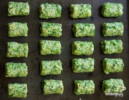Котлеты из брокколи в духовке - фото шаг 5