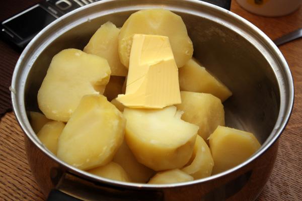 Рецепт Картофельные котлеты из пюре
