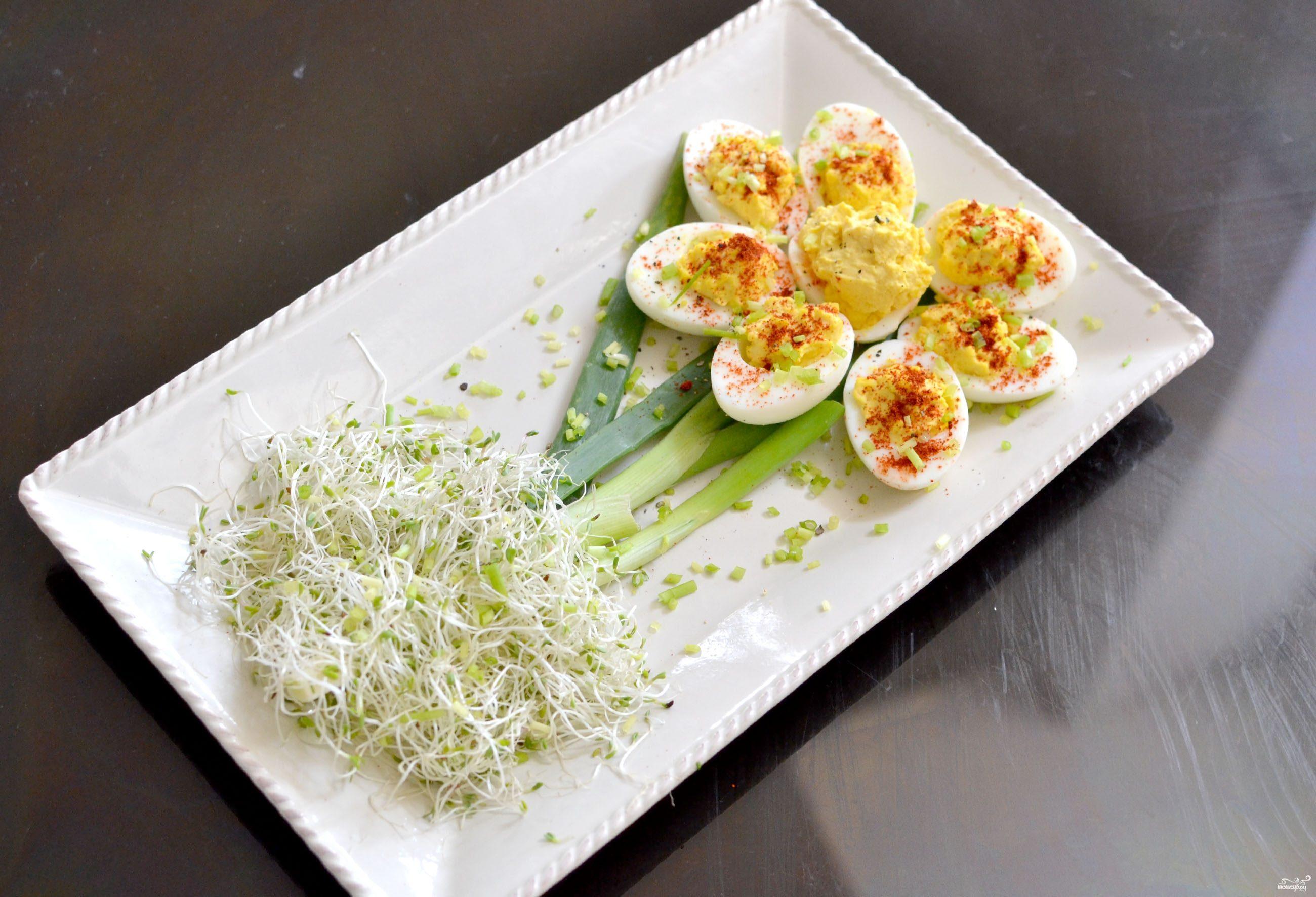 Цветочки из яиц