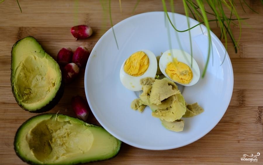 Рецепт Фаршированные авокадо