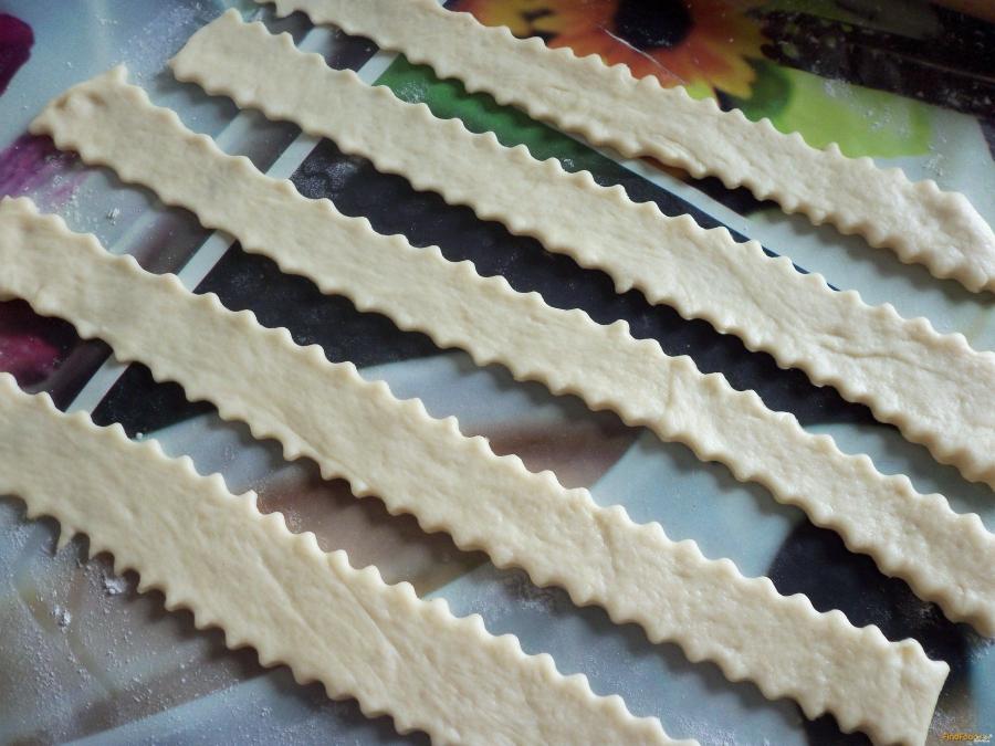 Капустный пирог без яиц - фото шаг 7