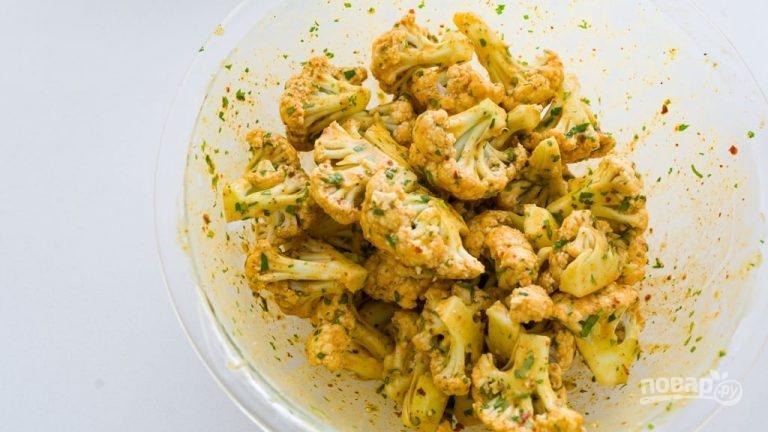 Очень вкусная цветная капуста в кляре во фритюре пошаговый рецепт