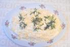 Салат Мимоза с сельдью
