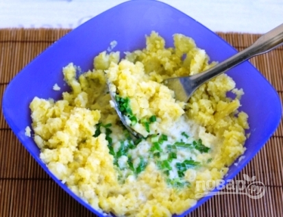 Картофельное пюре с капустой - фото шаг 6