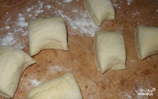 Пирожки с индейкой в духовке - фото шаг 6