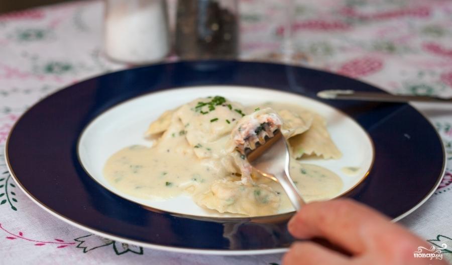 Равиоли с лососем - фото шаг 6
