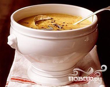 Рецепт Суп с чечевицей, шалфеем и беконом