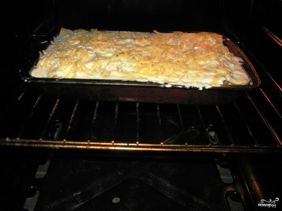 Пирог с груздями и картошкой - фото шаг 19