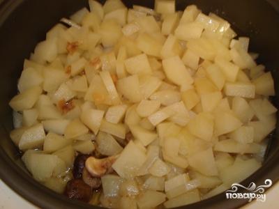 Индейка с яблоками в мультиварке - фото шаг 3