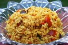 Рис с миндалем и изюмом