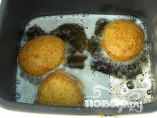 Пончики с джемом - фото шаг 6