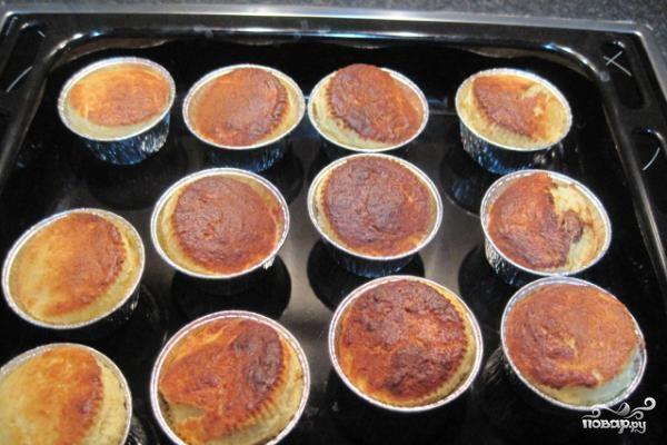 Творожные кексы с шоколадом - фото шаг 5