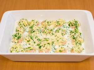 Куриные тефтели под сливочным соусом - фото шаг 14