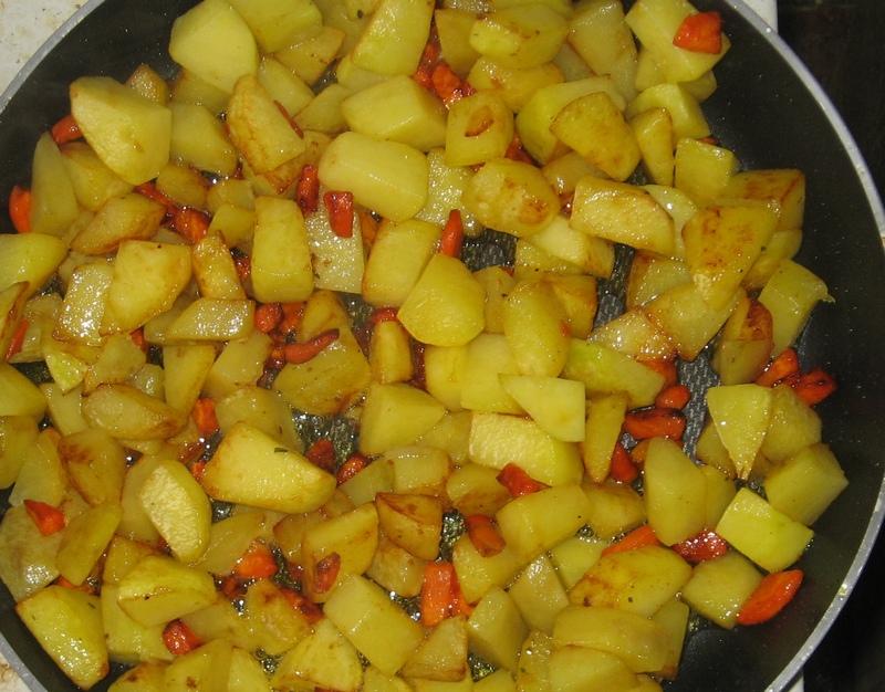 Рецепт Жаркое на сковороде
