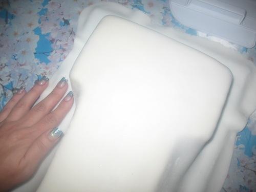 "Торт ""Единичка для мальчика"" - фото шаг 7"