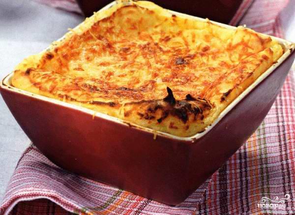 Рецепт Суфле картофельное с сыром