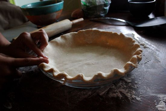 Пирог с лисичками и сыром - фото шаг 5