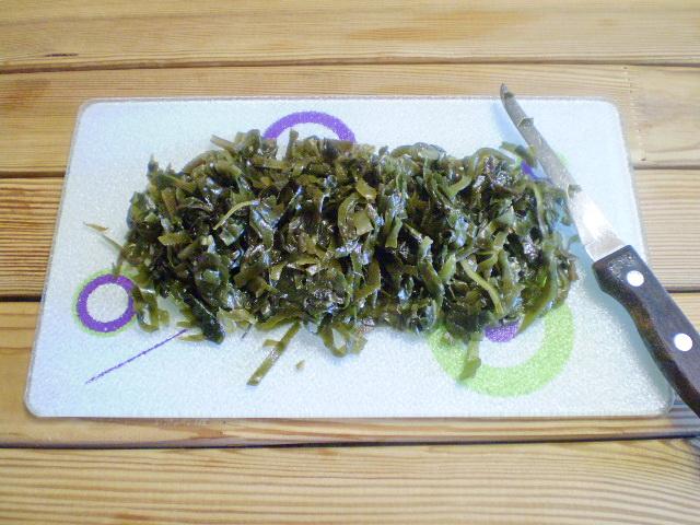 Салат к запеченной рыбе - фото шаг 2