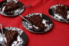 Шоколадный пирог с глазурью