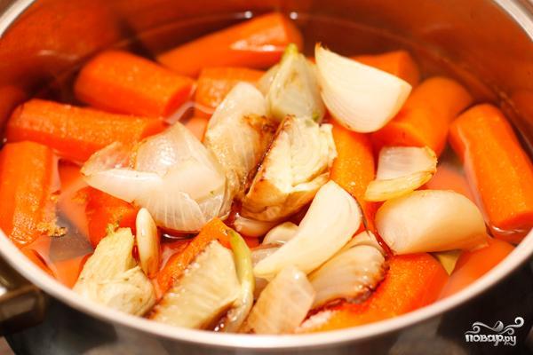 Морковный суп-пюре - фото шаг 5