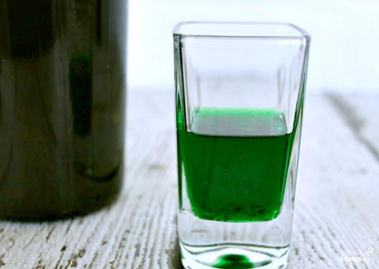 """Коктейль """"Зеленый ангел"""" - фото шаг 1"""