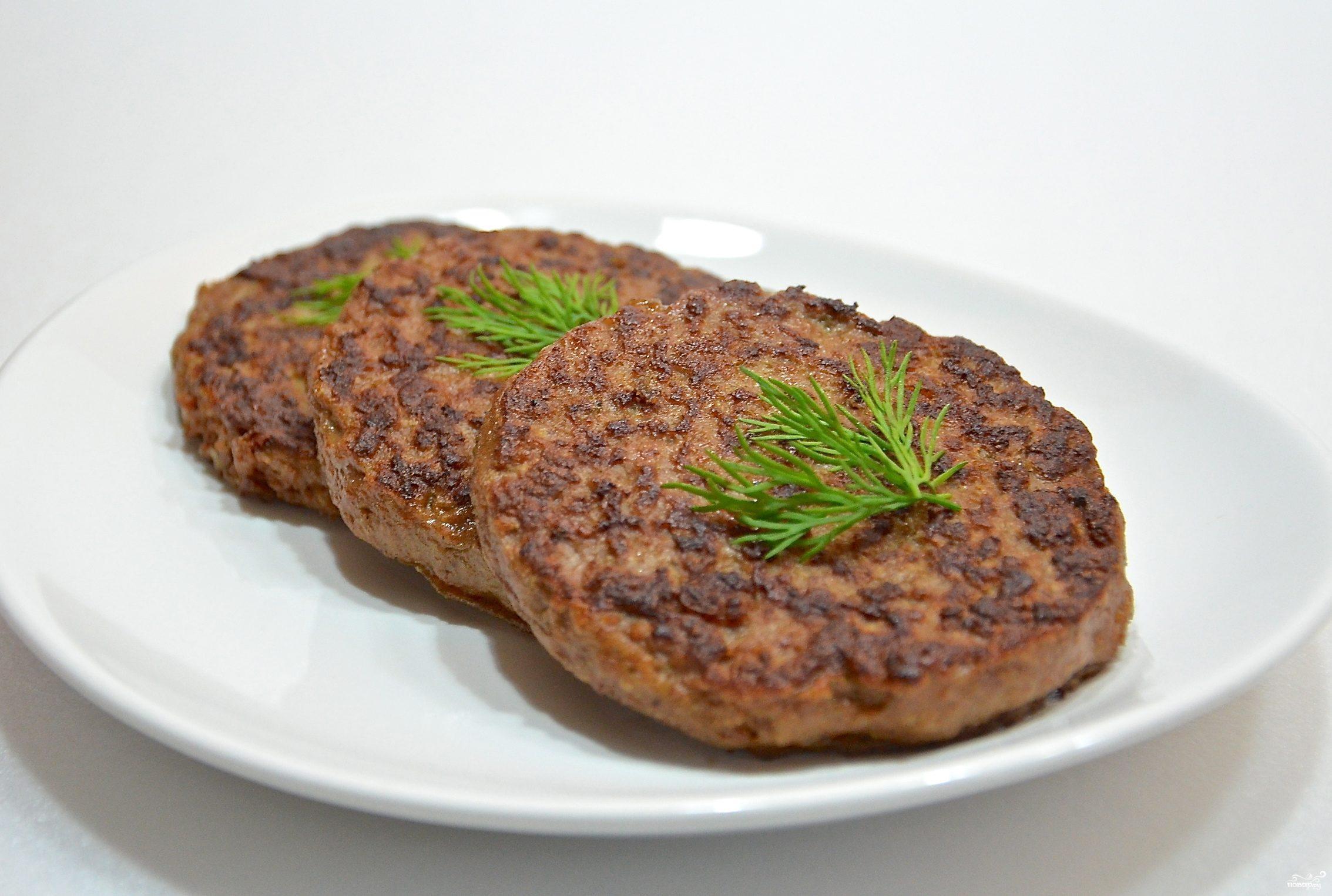 Рецепт Печеночные котлеты с рисом