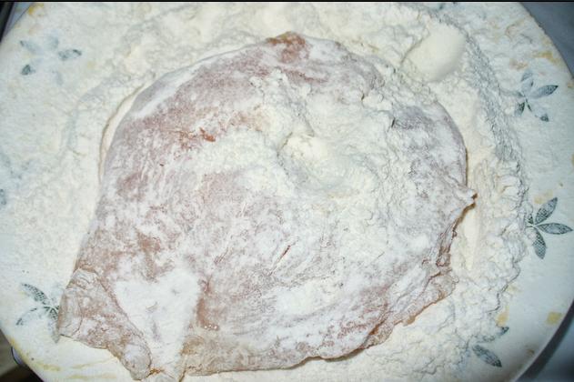 Сырный кляр - фото шаг 2