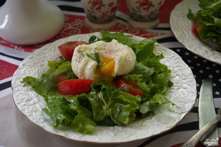 Салат к Ризотто - фото шаг 9