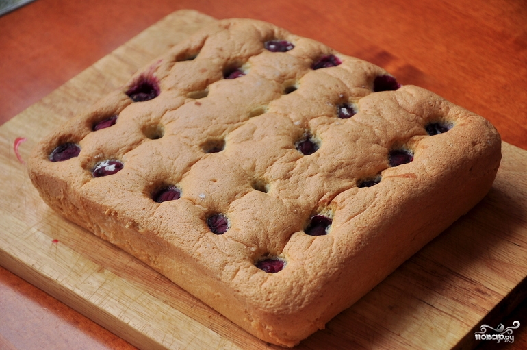 Бисквитный пирог - фото шаг 9