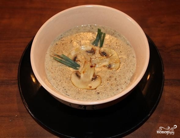 Крем-суп из белых грибов - фото шаг 7
