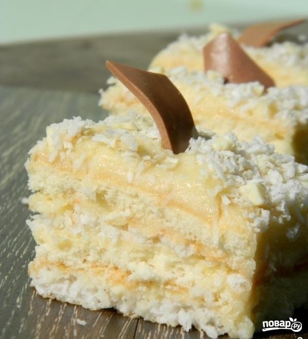 Кокосовое пирожное - фото шаг 15