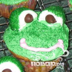 "Рецепт Кексы ""Лягушки"""