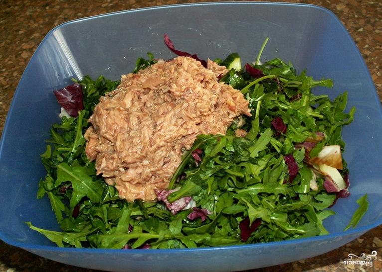Полинезийский салат - фото шаг 6