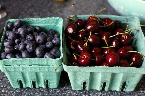 Рецепт Галета с летними ягодами