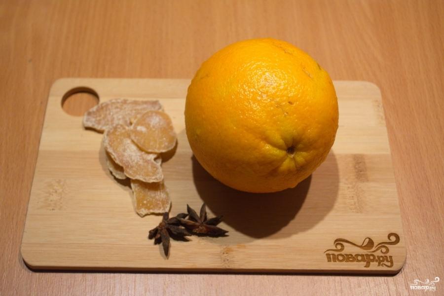 Рецепт Глинтвейн с имбирем