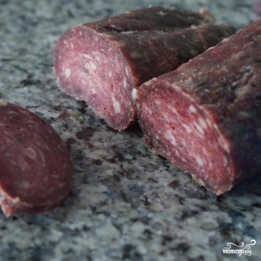 как приготовить колбасу из оленины рецепты