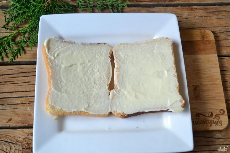 Бутербродный торт - фото шаг 3