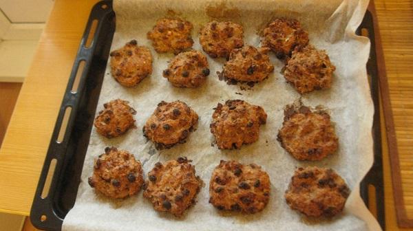 Овсяное печенье без масла - фото шаг 6