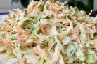 Весенне-летний салат из капусты