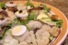 Салат из цветной капусты