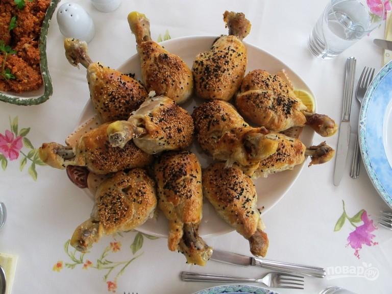 Куриные ножки в мешочке в духовке рецепт с пошагово
