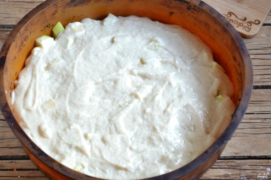 Вегетарианская шарлотка - фото шаг 6